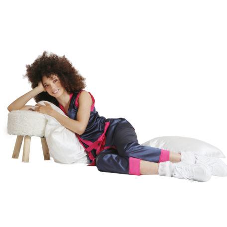 Silk pyjama and silk pillow cases