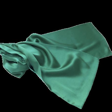 very long jade silk scarf