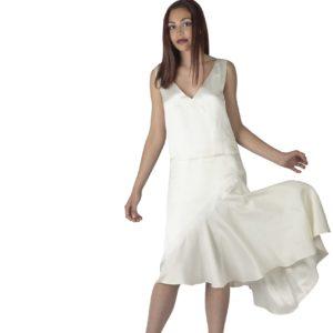 J'ai gagné le Premier Prix de l'Elégance, silken white