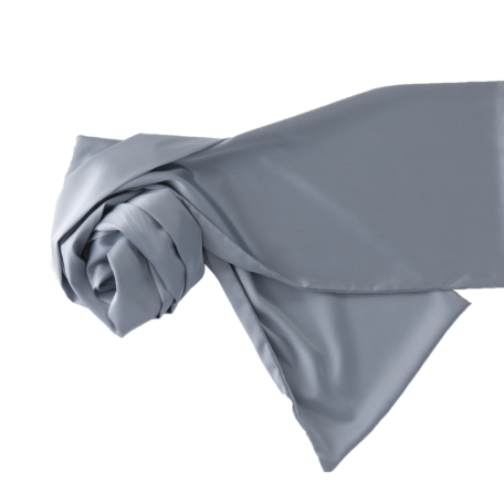 Silk scarf light blue
