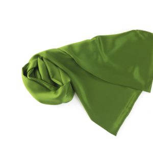 SUITY – silk scarf green