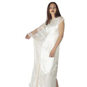 Une fille cousue de fil d'or, white gold