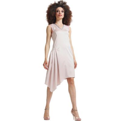 robe-soie-asymétrique