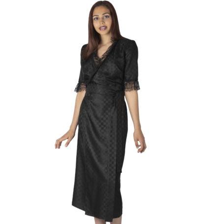 black-wrap-silk-dress-lace