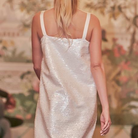 14-Robe en soie pour Lune de Miel sur-mesure ou Robe de Demoiselle d'honneur
