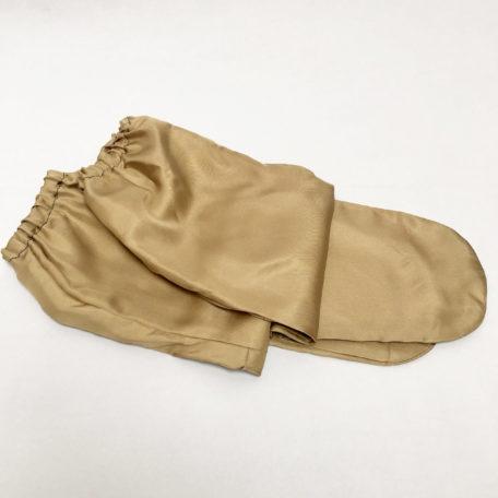 chaussettes en soie, coloris gold, ou or