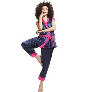 pyjama chic en soie personnalisable